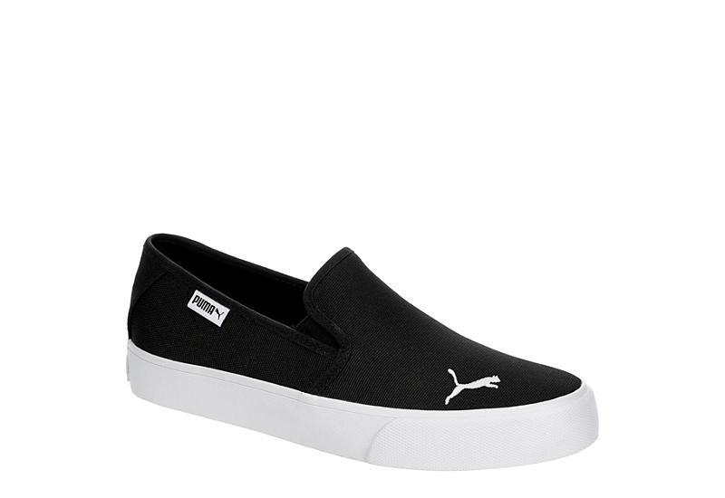 BLACK PUMA Womens Bari Slip On Sneaker
