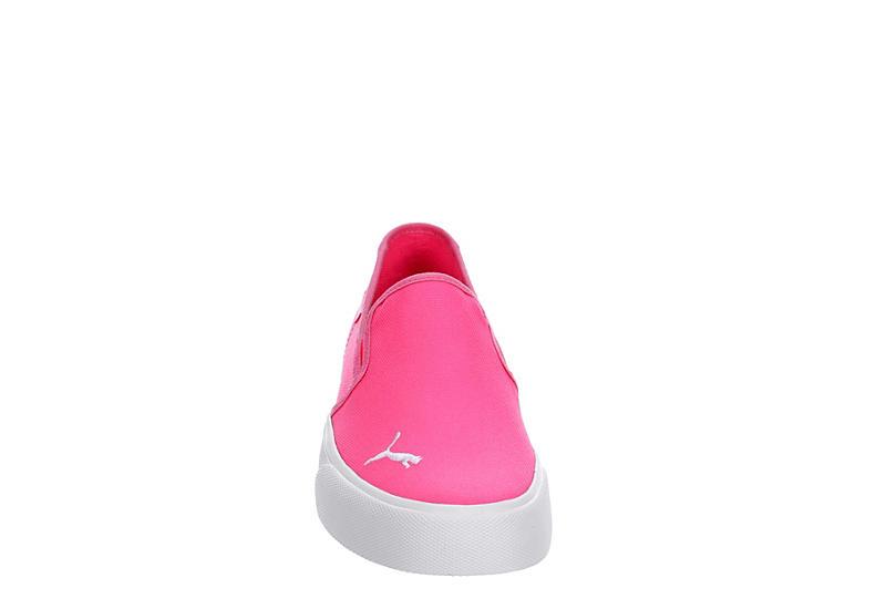 PUMA Womens Bari Slip On Sneaker - BRIGHT PINK