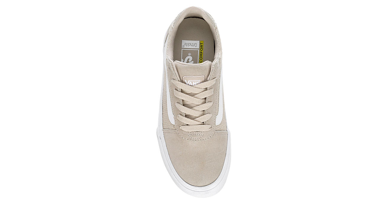 VANS Womens Ward Sneaker - TAN