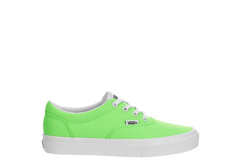 VANS Womens Doheny Sneaker - BRIGHT GREEN