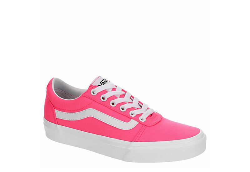 BRIGHT PINK VANS Womens Ward Sneaker