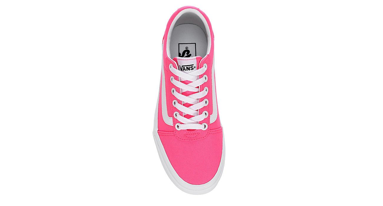 VANS Womens Ward Sneaker - BRIGHT PINK