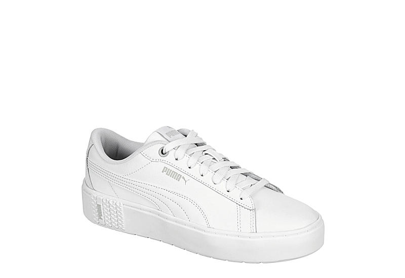White Puma Womens Smash Platform Sneaker | Womens | Rack Room Shoes