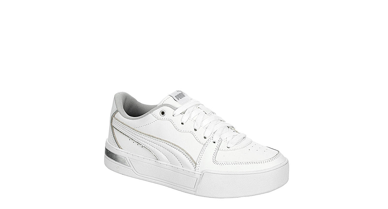White Puma Womens Skye Platform Sneaker   Athletic   Rack Room Shoes