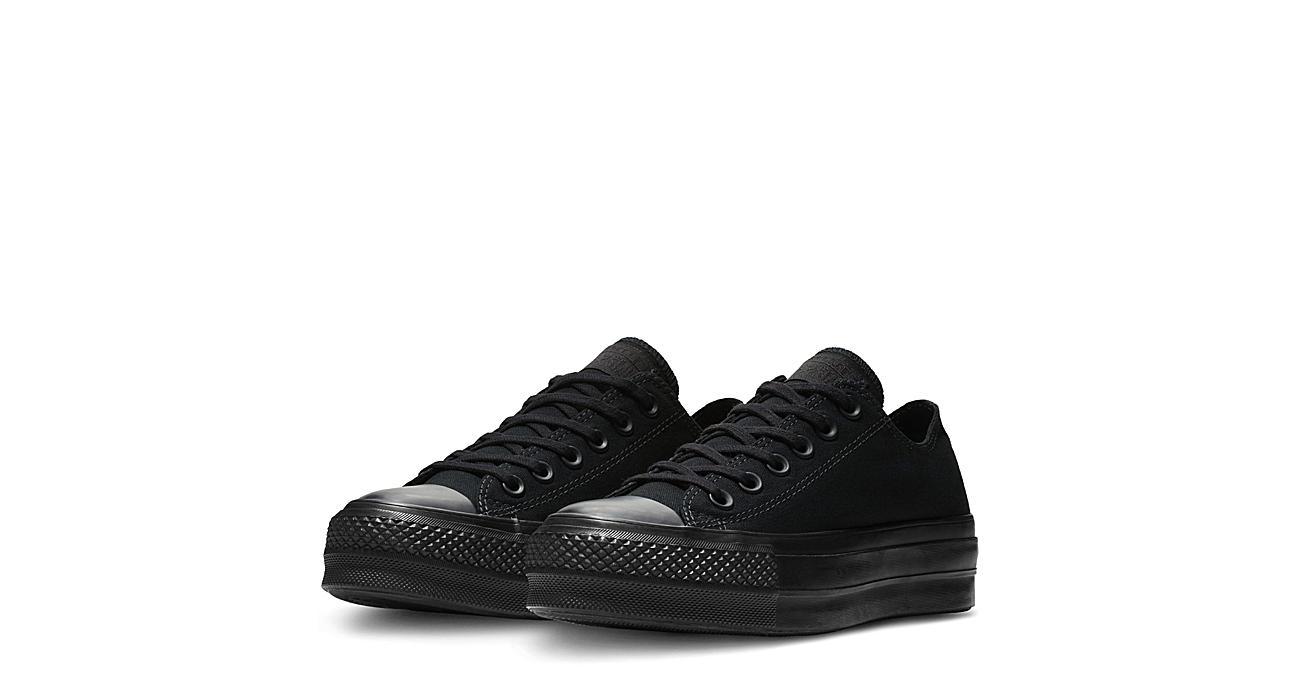 cascada moverse costo  Black Converse Womens Chuck Taylor All Star Lift Sneaker | Black & White |  Rack Room Shoes