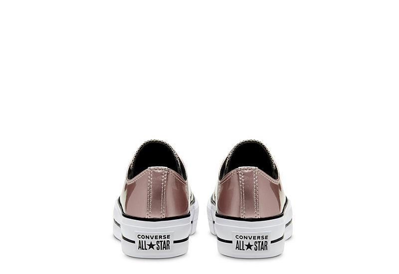 CONVERSE Womens Chuck Taylor All Star Lift Sneaker - SILVER