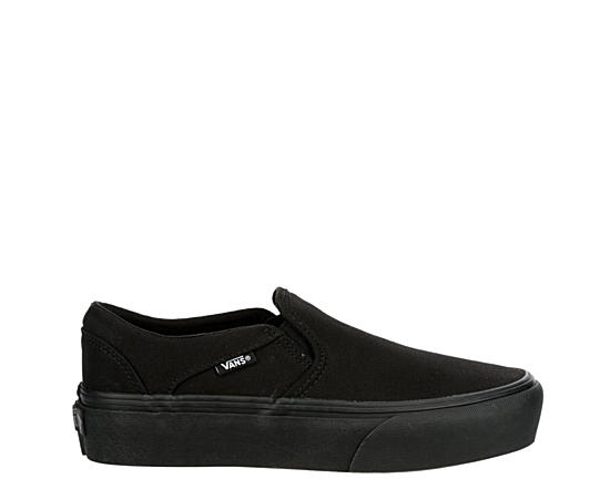 Womens Asher Platform Slip On Sneaker