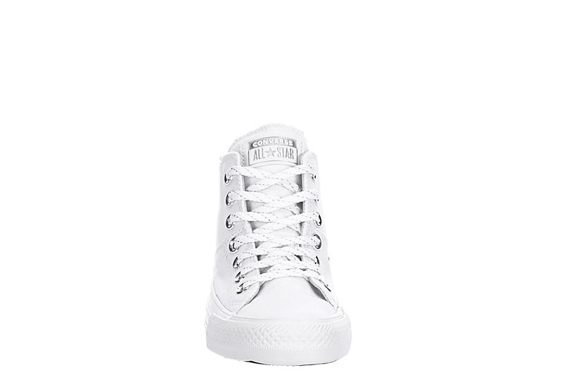CONVERSE Womens Chuck Taylor All Star Madison Mid Top Sneaker - WHITE
