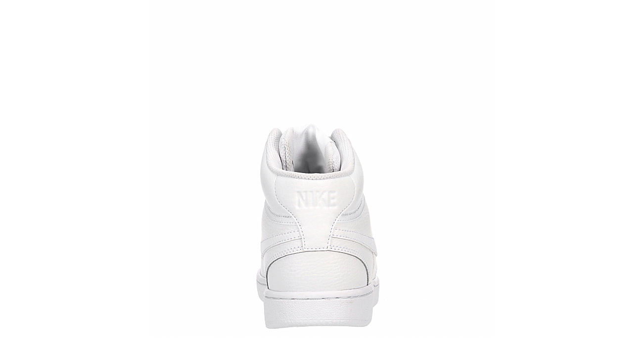NIKE Womens Court Vision Mid - WHITE