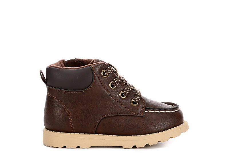 CARTERS Boys Infant Brand Hiker Boot - BROWN