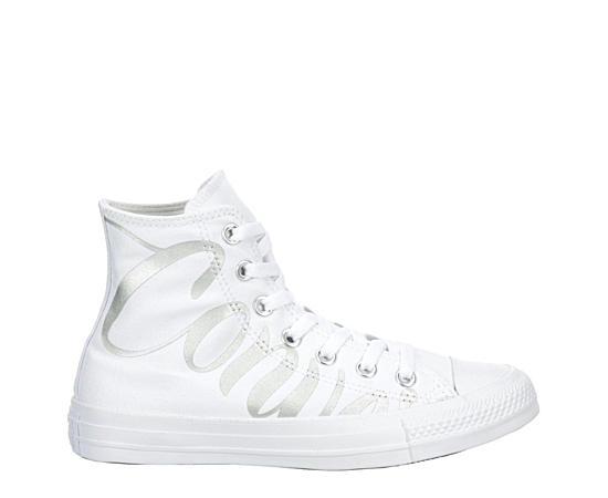Womens Chuck Taylor All Star Iridescent Star High Top