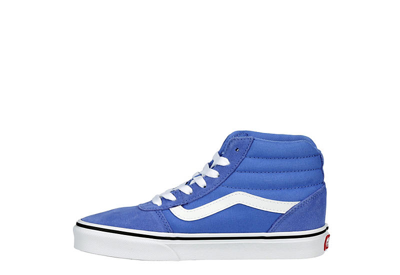 VANS Womens Ward High Top Sneaker - BLUE