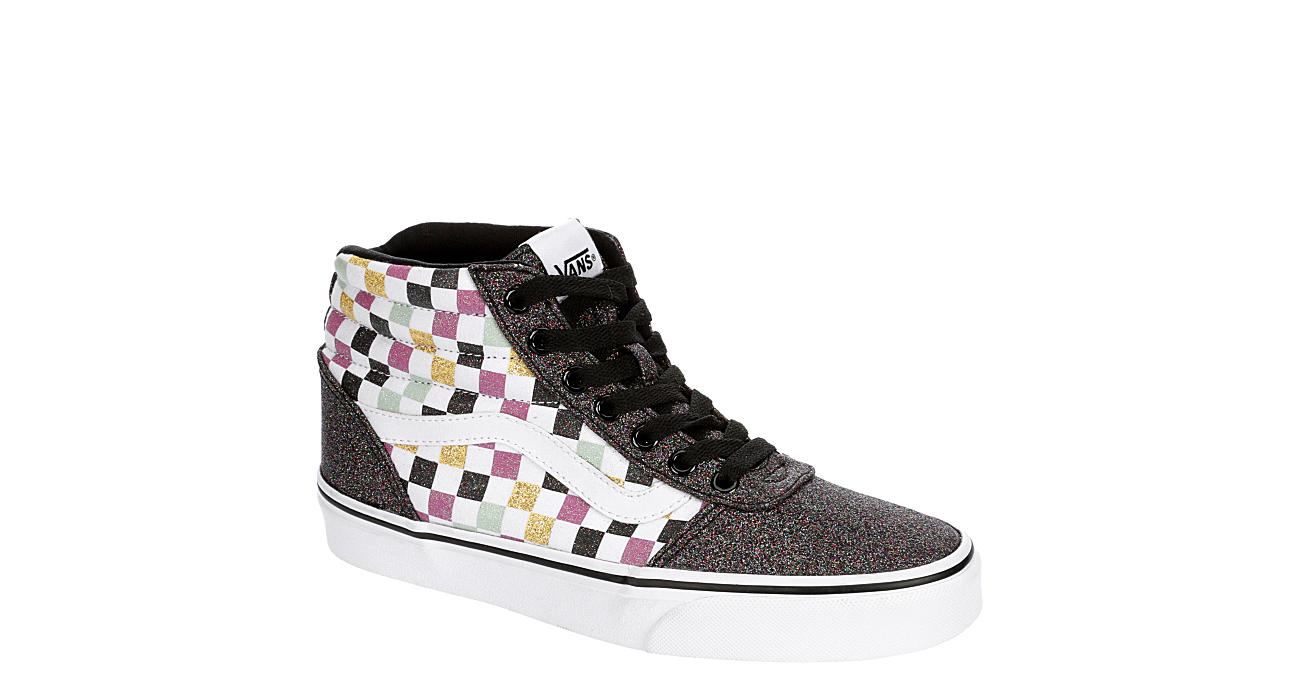 VANS Womens Ward High Top Sneaker - MULTICOLOR