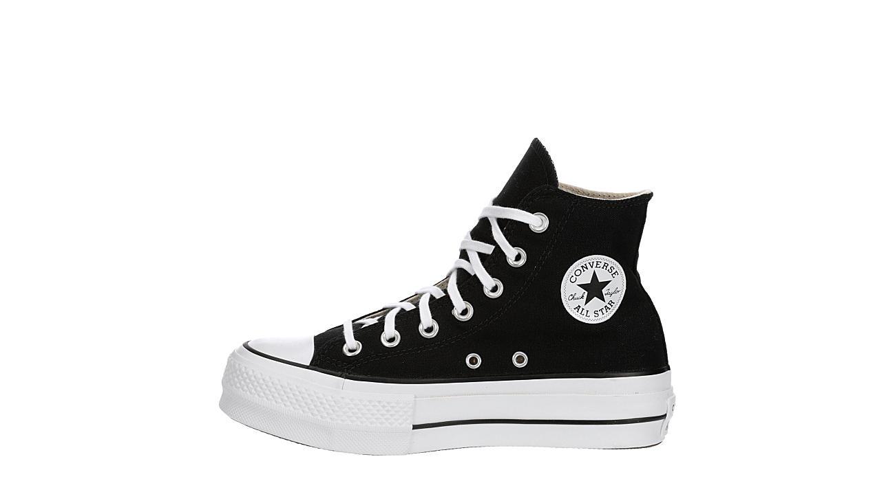 Converse Womens Chuck Taylor All Star High Top Platform Sneaker - Black