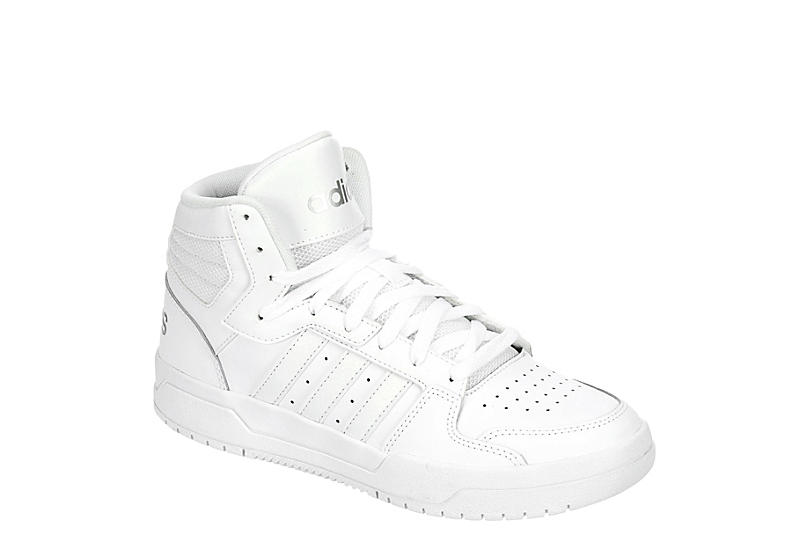casamentero trolebús paquete  White Adidas Womens Entrap Mid Top Sneaker   Court Sneakers   Rack Room  Shoes