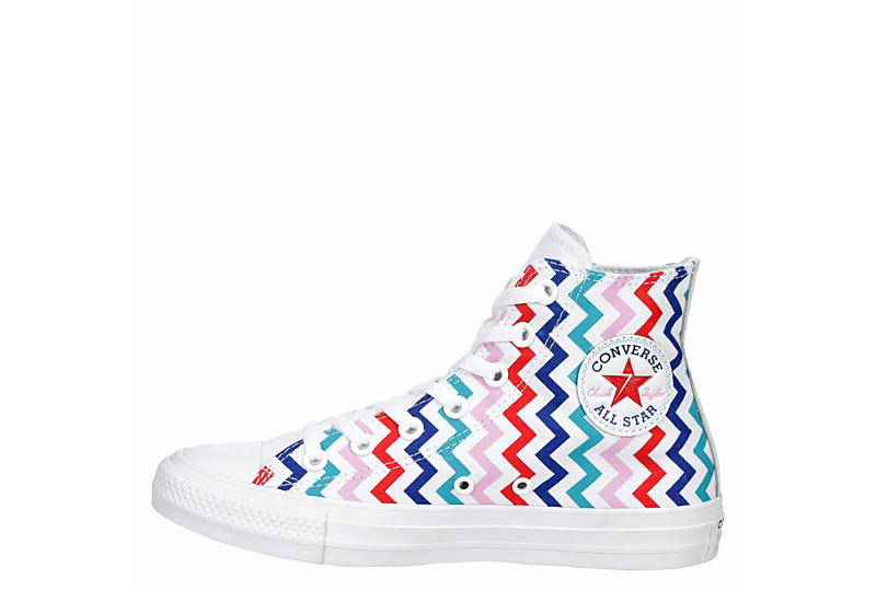 CONVERSE Womens Chuck Taylor All Star High Top Sneaker - WHITE