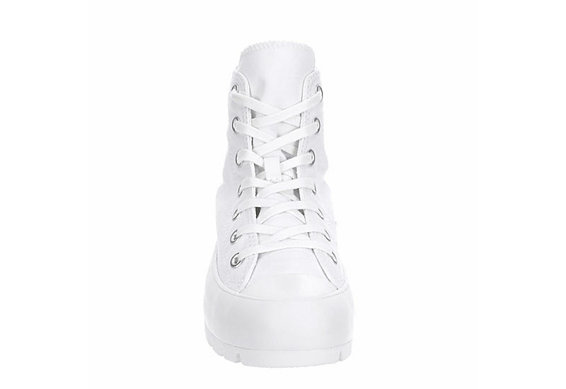 CONVERSE Womens Chuck Taylor All Star Lugged High Top Sneaker - WHITE