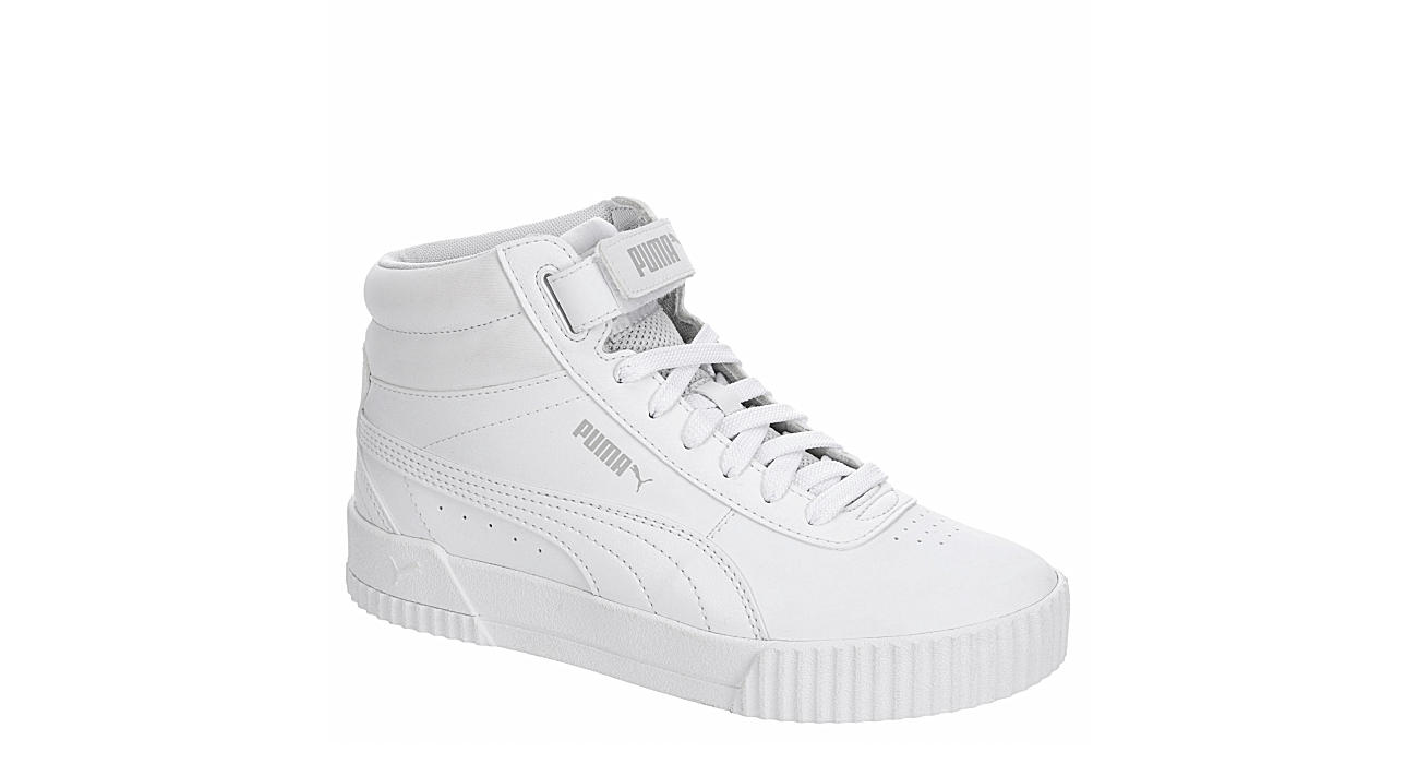 White Puma Womens Carina Mid Top Sneaker | Athletic | Rack Room Shoes