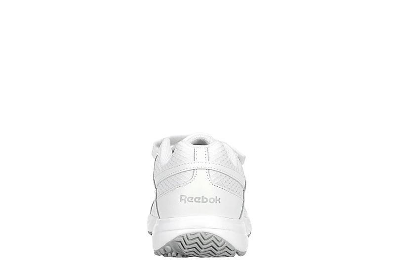 REEBOK Womens Work N Cushion 4.0 Walking Shoe - WHITE