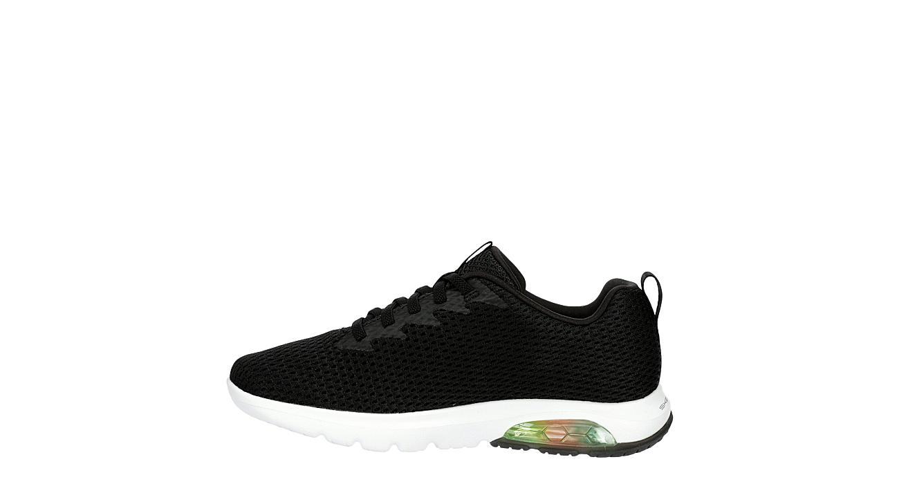 SKECHERS Womens Go Walk Air Sneaker - BLACK