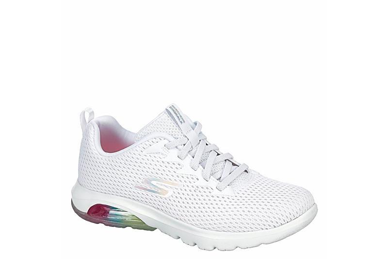 SKECHERS Womens Go Walk Air Sneaker - WHITE