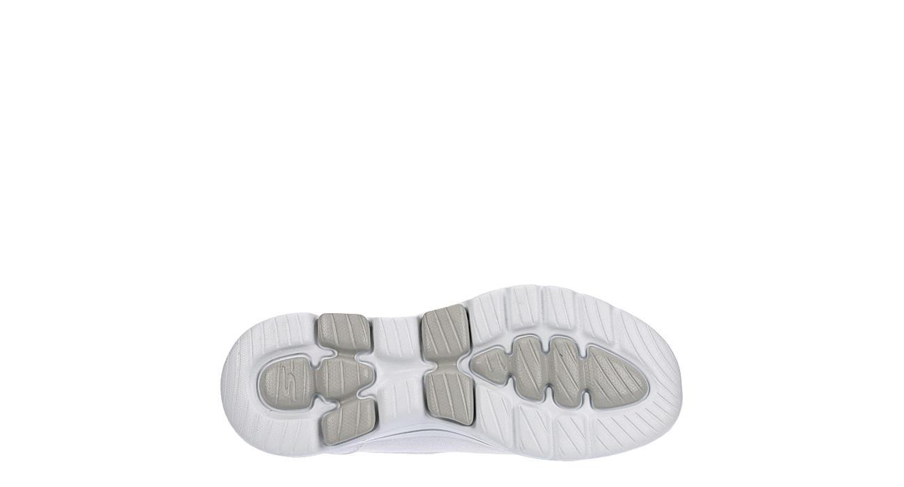 SKECHERS Womens Go Walk 5 Slip On Sneaker - WHITE