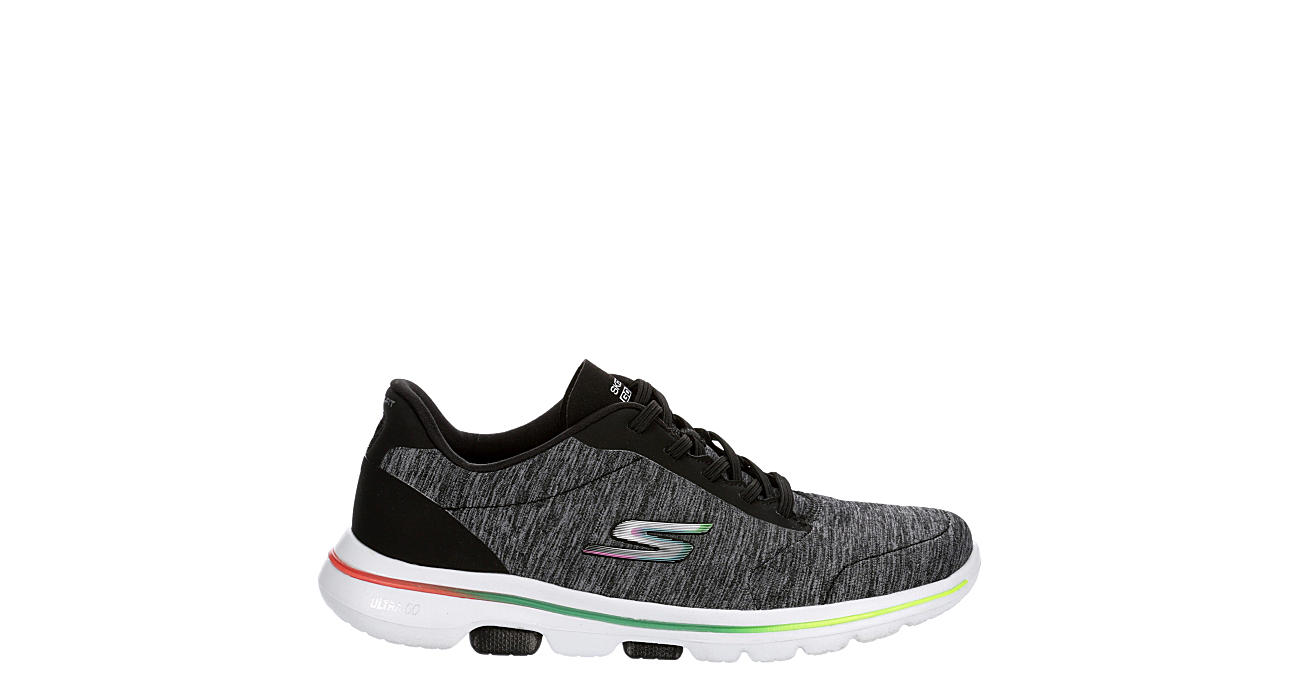 SKECHERS Womens Go Walk 5 Sneaker - BLACK
