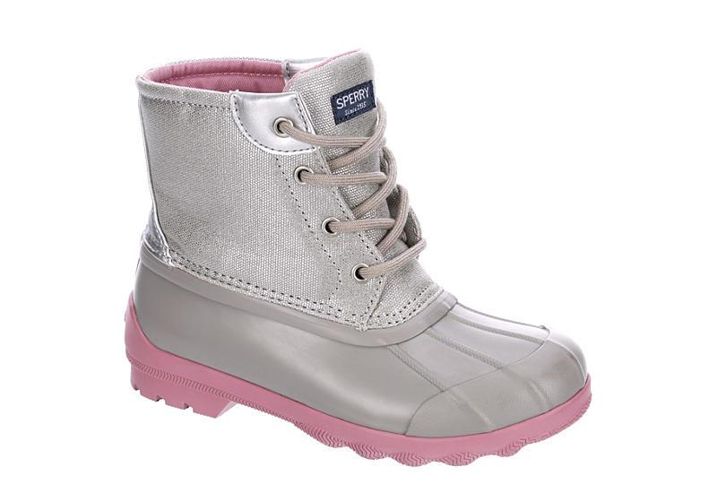 SPERRY Girls Port Boot Rain Boot - GREY