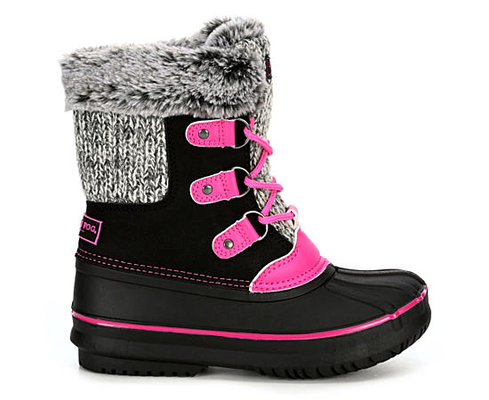 Girls Infant  Sherpa Boot