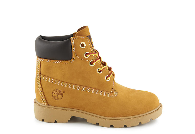 TIMBERLAND Boys 6 Classic Work Boot - TAN