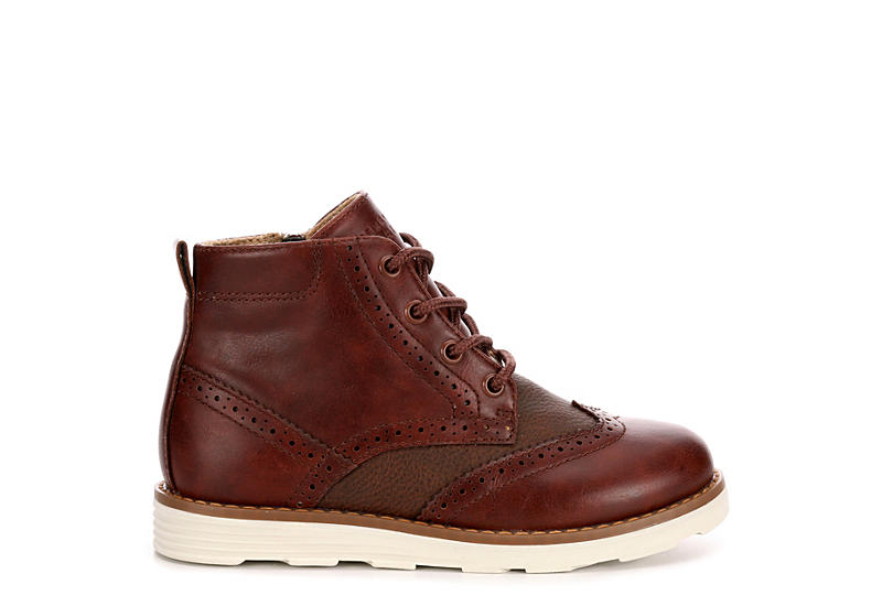 876c5e5051 Perry Ellis Boys Leon - Brown