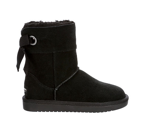 Girls Andrah Short Fur Boot