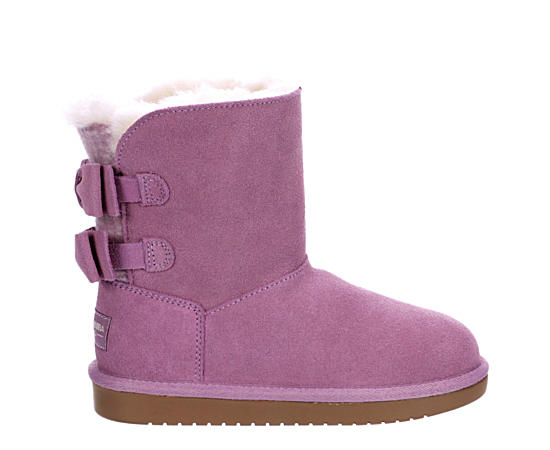 Girls Attie Fur Boot
