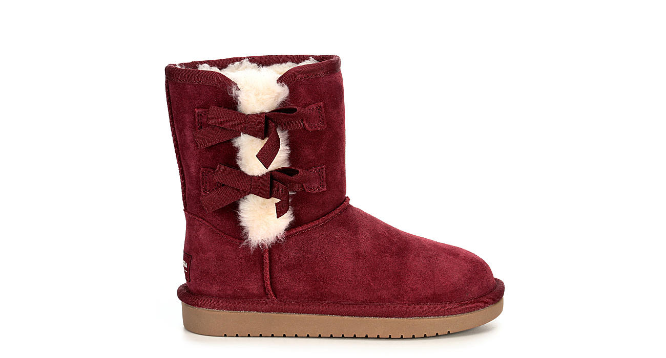 5401ce47be3 Koolaburra By Ugg Girls Koolaburra Victoria Short - Burgundy