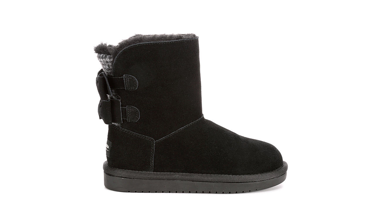 d3356c1e921 Koolaburra By Ugg Girls Attie - Black