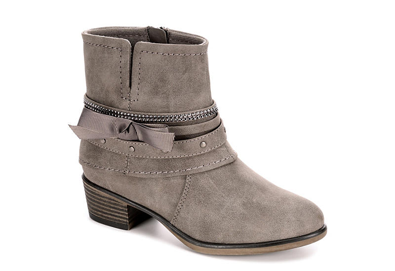 CUPCAKE COUTURE Girls Liberty Western Boot - GREY