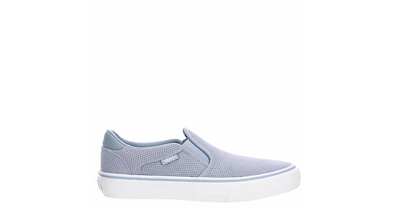 VANS Womens Asher Slip On Sneaker - BLUE