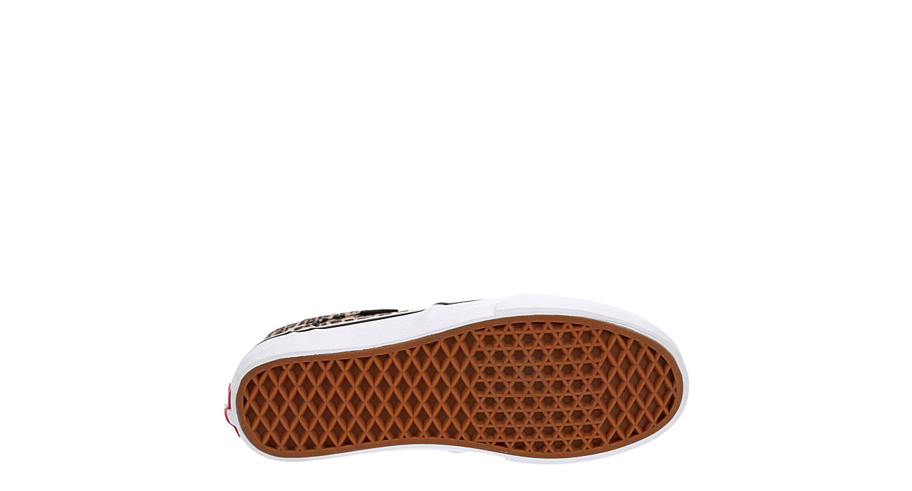 VANS Womens Asher Slip On Sneaker - LEOPARD