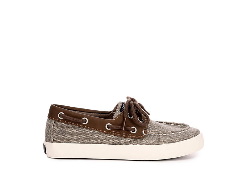 SPERRY Boys Tuck Boat Shoe - BROWN