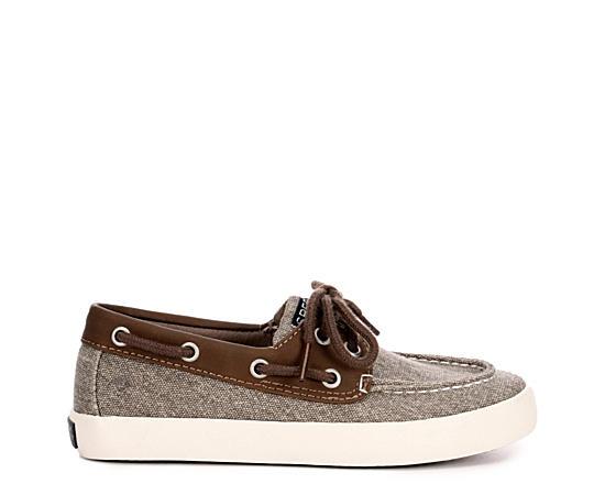 Boys Tuck Boat Shoe