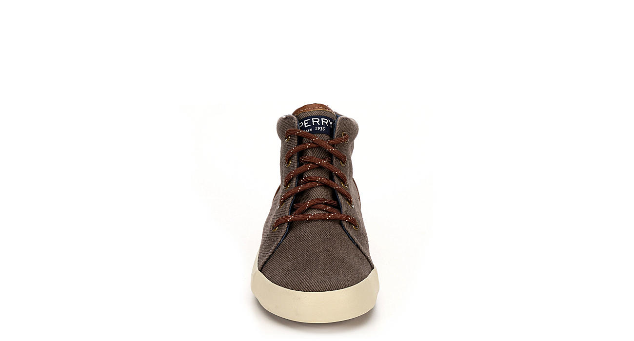 SPERRY Boys Tuck Mid - BROWN