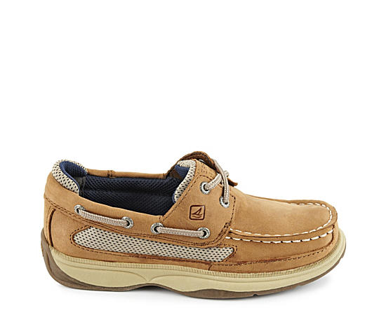 Boys Lanyard Boat Shoe