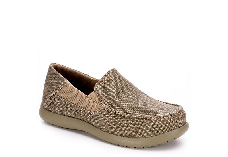 64af3c513891e Tan Crocs Boys Santa Cruz Ii