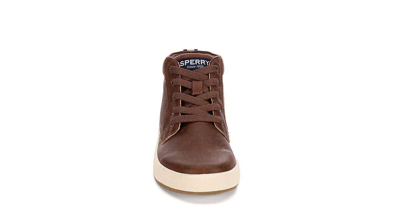 SPERRY Boys Cruise Mid - BROWN