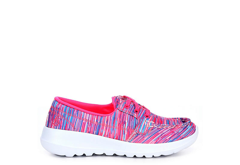SKECHERS Girls Go Walk Joy - Preppy Steps - BRIGHT PINK