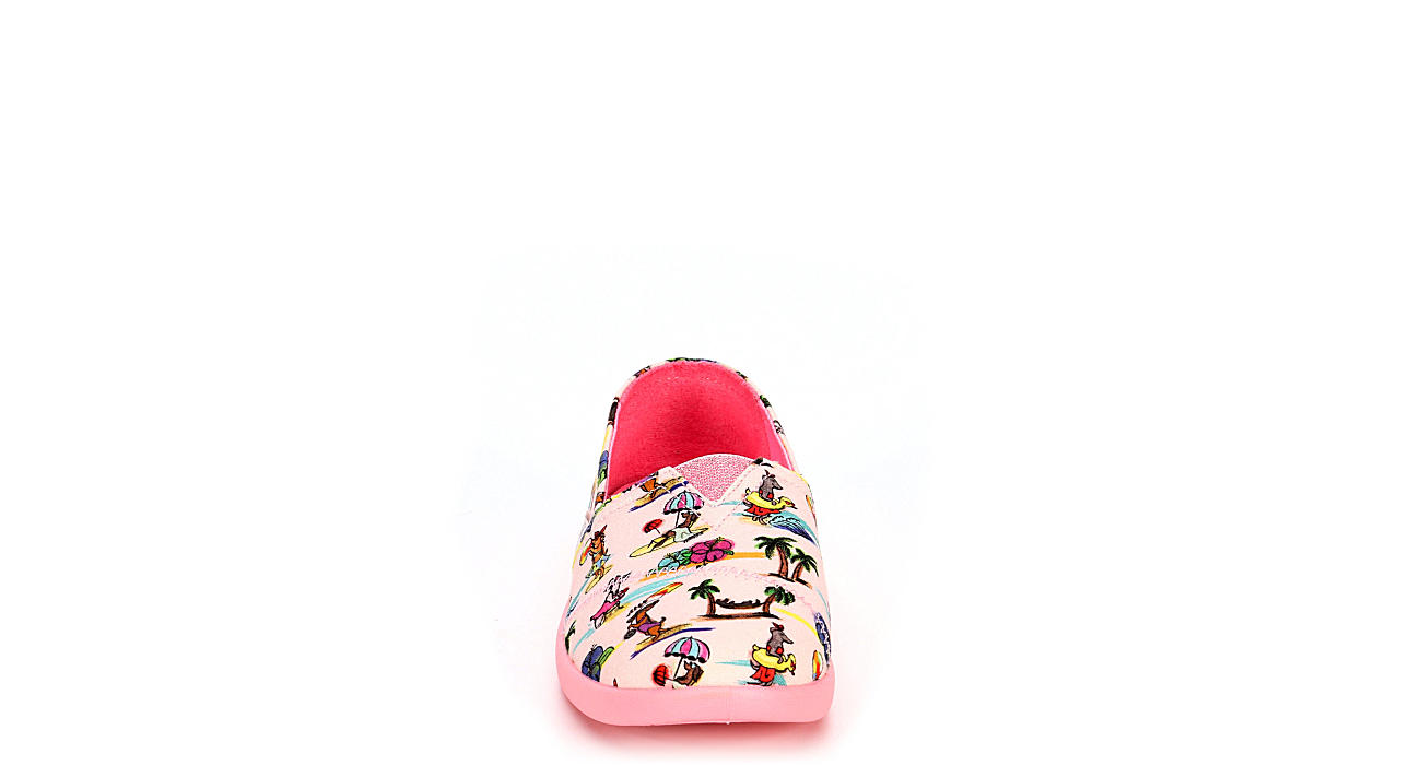 SKECHERS Girls Lil Bobs Solestice 2.0 - Island Pups Slip On - PINK