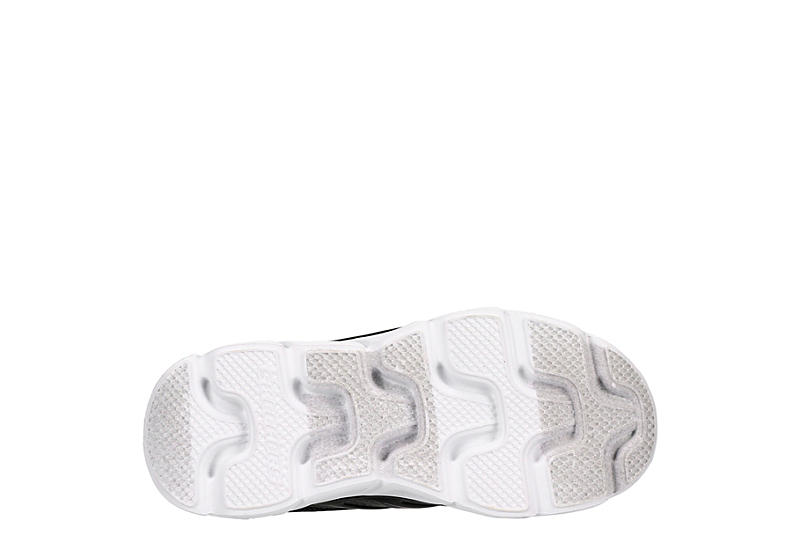 SKECHERS Boys S Lights Magna-lights Light Up Sneaker - BLACK