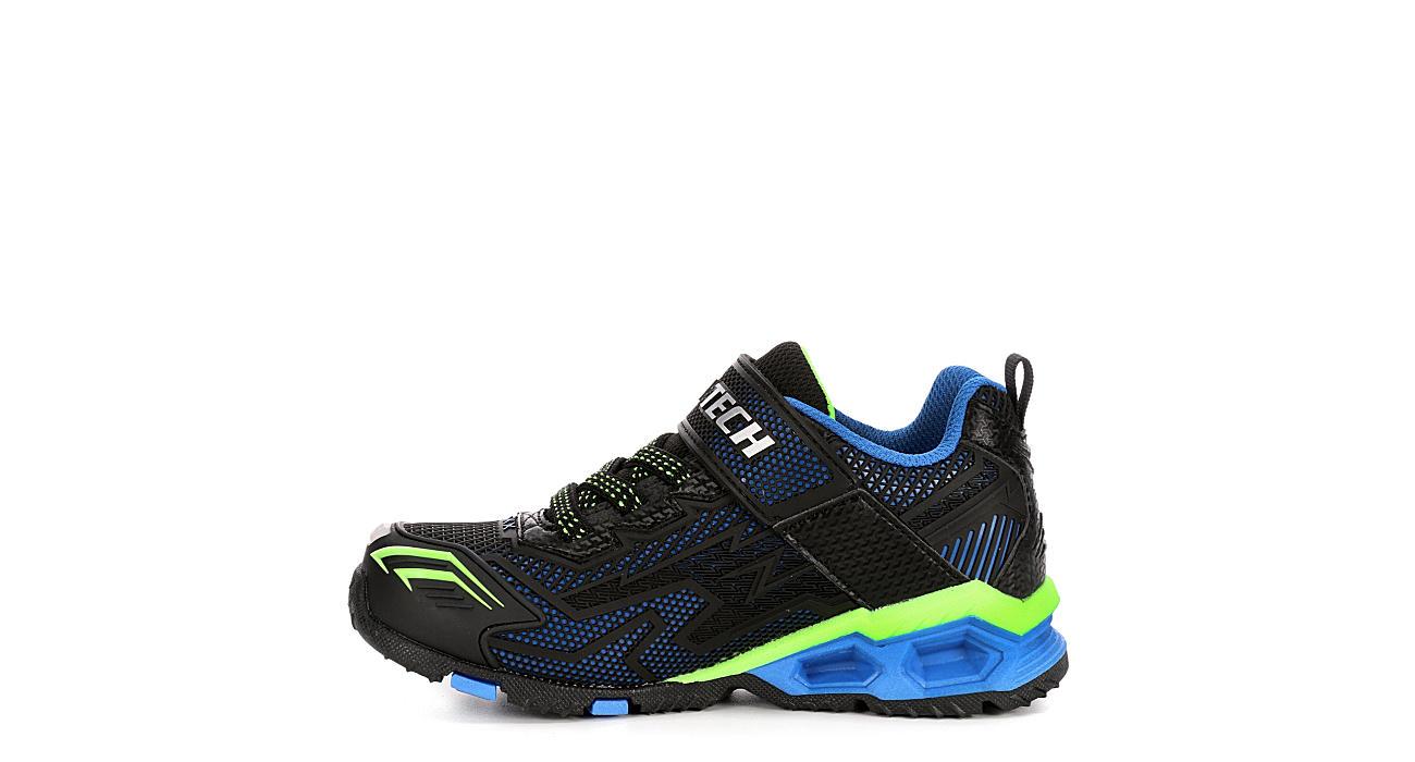 SKECHERS Boys S Lights Hydro Lights Light Up Sneaker - BLACK