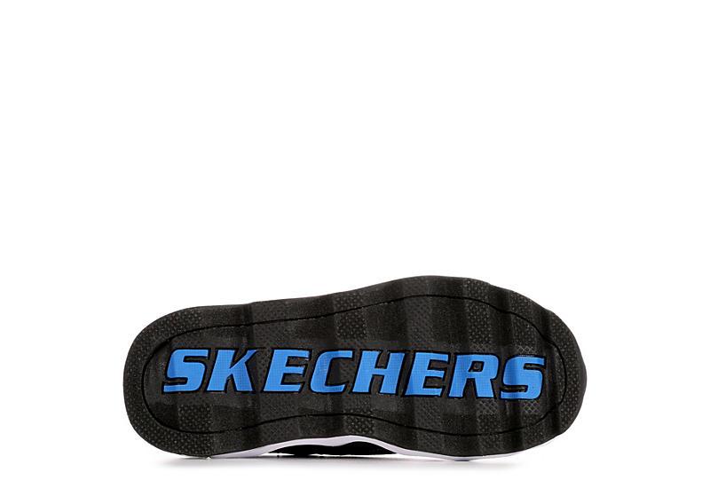 SKECHERS Boys S Lights Turbowave - BLACK