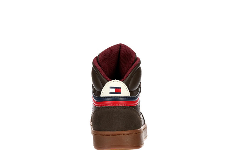 TOMMY HILFIGER Boys Cade Court - CHOCOLATE
